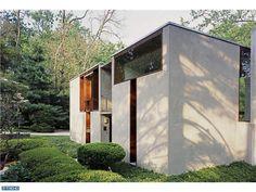 Louis I. Kahn. Margaret Esherick House. Chestnut Hill, Philadelphia, Pennsylvania. 1959-1961.