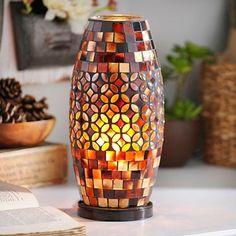 Tortoise Mosaic Jewel Uplight
