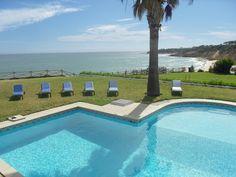 Villa in Olhos de Agua, Albufeira, Algarve, Portugal. Stunning sea views from the private swimming pool.
