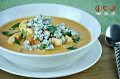Buffalo Chicken Soup - Low Carb, Gluten Free