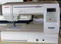 Janome Horizon Memory Craft 8200QC Review