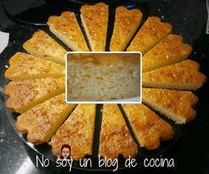 BIZCOCHO DE QUESO Sweet Desserts, Sweet Recipes, Spanish Food, Sin Gluten, Flan, Cornbread, Cheesecake, Food And Drink, Sweets
