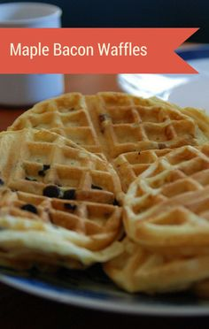 """Kenji Lopez-Alt joined Michael Symon on The Chew to share a recipe from his cookbook """"Food Lab."""" These Maple Bacon Waffles are practically the best way to start your day!"""