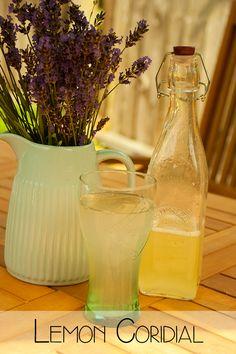 Traditional Summer Recipe for homemade Lemon Cordial - ideal to mix with squash or add to summer cocktails and mocktails.