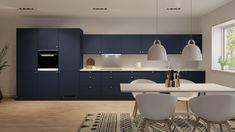 Sirius - Huseby Kjøkken og garderobe Conference Room, Table, Furniture, Home Decor, Scale Model, Coat Racks, Decoration Home, Room Decor, Meeting Rooms