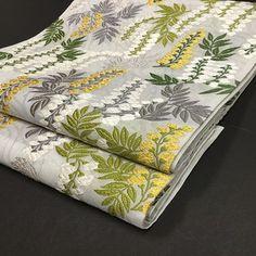 夏袋帯‐藤の花‐六通柄