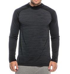 Nike Mens Stay Cool Lightweight Long Sleeve Training Black Hoodie L 696063-014 #Nike #Hoodie