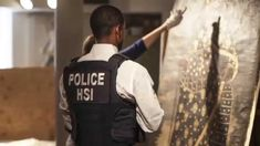 Four separate investigations by U. Immigration and Customs Enforcement's (ICE) Homeland Security Investigations (HSI) led to the seizure of several looted . Immigration And Customs Enforcement, Thing 1, Investigations, San Antonio, Peru, Christianity, Paintings, Youtube, Turkey
