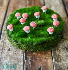 Tiny edible chocolate and marshmallow toadstools are the perfect no bake treat for any fairy or woodland themed party.