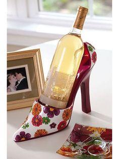 High Heel Wine Bottle Holder 1 High Heel Wine Bottle Holder is a girls best friend