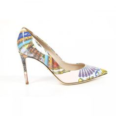 Dolce & Gabbana decollete Kate Details - External VITELLO - Sole: Leather - Heel: 9 cm - Made in Italy - Shipped from US Stilettos, High Heels, Designer Pumps, Dolce Gabbana, Stiletto Shoes, Leather Pumps, Pump Shoes, Women's Accessories, Fashion Shoes