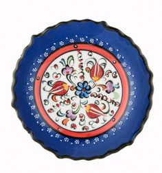 """This  plate can be used as a decoration item with its unique color in your house or as a gift for your loved ones  Impress your guests on your dining table (handwash only)  DIMENSIONS  3.9"""" / 10 cm Round"""