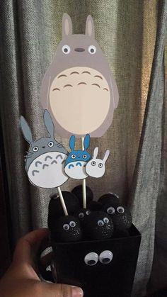 My neighbor Totoro centerpieces, Totoro, Birthday Party