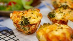 Make these individual high protein broccoli salmon feta frittatas, and you'll have a perfect grab and go breakfast or all day snack on hand. Bet you can't eat just one!