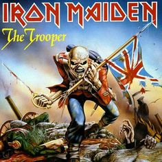 Iron maiden - 1980's single 'The Trooper'