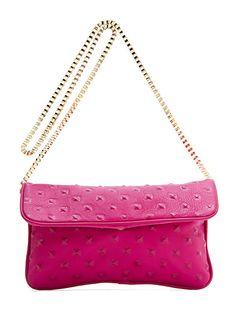 MANGO - BAGS - TOUCH - Leather messenger handbag