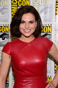 "Lana Parrilla Photos Photos - Actress Lana Parrilla attends ""Once Upon A Time"" Press Line Comic-Con International 2016 at Hilton Bayfront on July 23, 2016 in San Diego, California. - Comic-Con International 2016 - 'Once Upon A Time' Press Line"