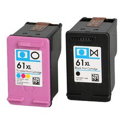 2x Compatible hp 61XL Ink Cartridge for For DeskJet 1000 1050 1055 1510 2000 2050 2510 2540 3000 3050 3054Ae / ENVY 4500e 5530e