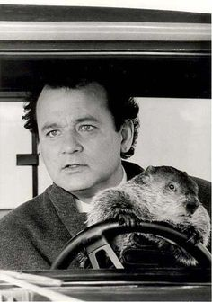 Groundhog Day--Bill Murray
