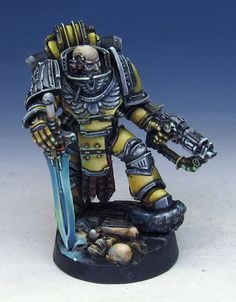 James Wappel Miniature Painting: Another Forgeworld Character