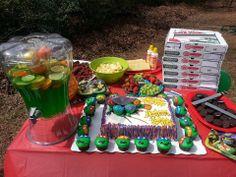 Ninja party food