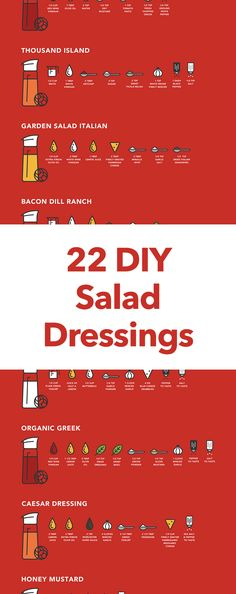 A Dressing For Any Occasion. Homemade Ranch, Vinaigrette, Thousand Island, and More...
