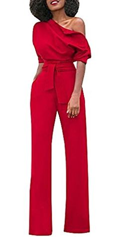 GAGA Women Velvet Off Shoulder Jumpsuit Long Sleeve Rompers