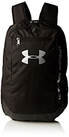Under Armour Unisex UA Hustle Backpack LDWR Black Backpac... https    555ea2a7c2d3d