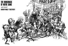 New - Jack Davis, Mad Monster Party Poster