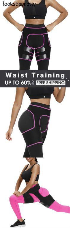Leg And Glute Workout, Buttocks Workout, Fitness Workout For Women, Fitness Gear, Tight Stomach, Best Waist Trainer, Get Skinny, Waist Training Corset, Hacks