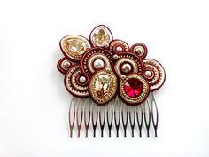 Guzel Alkhamova | VK Soutache Jewelry, Shibori, Creative Ideas, Headbands, Jewerly, Ribbon, Hair Accessories, Earrings, Inspiration