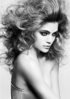 Paula Kelly hair shot by Andrew O'Toole