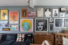 Paula & Paul's Lively London Home and Studio
