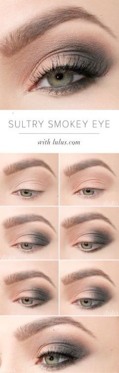 LuLus How-To: Sultry Smokey Eye Makeup Tutorial