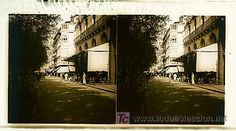 SAN SEBASTIAN - VISTA - AÑO 1913 - CRISTAL POSITIVO (TAMAÑO GRANDE) (Fotografía Antigua - Estereoscópicas)