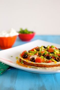 """""""What am I going to make because I'm tired and I really don't want to slave in a kitchen"""" types of meals.  You can never go wrong with a Mexican Pizza."""