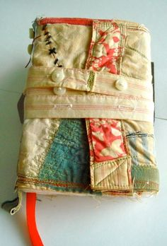 Recycled Fabric Journals at Art and Soul Retreat