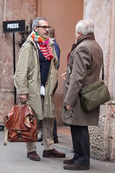 details:  Street Style: Milan Fashion Week, Menswear Fall 2013