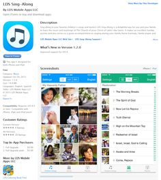 The Primary Pad: LDS Sing Along App