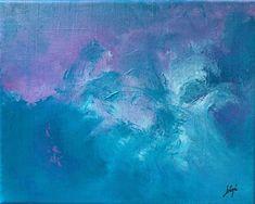 Les Zarts de Béné – Acrylique - 30 x 24 cm Les Oeuvres, Abstract, Artwork, Painting, Lavender Blue, Summary, Work Of Art, Auguste Rodin Artwork, Painting Art