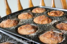A Spoonful of Goodness: Apple Donut Muffins
