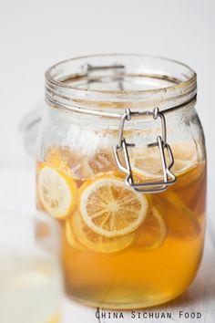 honey lemon tea   Healthy honey lemon tea provides a quite excellent sweet and sour taste.