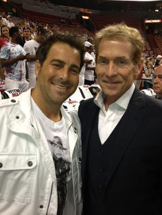Evan Golden and Skip Bayless