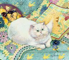 Amy Rosenberg Cat On the Bed