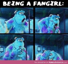 What being a fangirl looks like