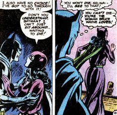 Catwoman and Batman in a romance in Batman #324 June 1980 written by Len Wein and illustrated by Irv Novick