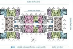 Hospital Floor Plan, Flat Plan, Apartment Floor Plans, Master Plan, Amazing Architecture, How To Plan, Apartments, Maps, Buildings