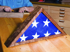 Making a Memorial Flag Case - Woodworker's Journal