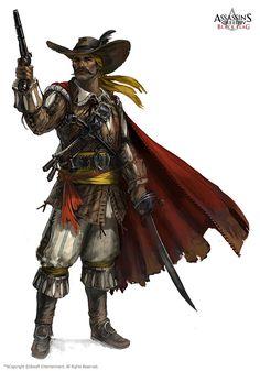 The Adventurer | Alejandro Ortega De Marquez - Assassin's Creed IV Black Flag |2013|