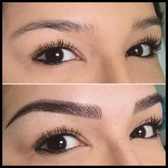 Pin By Barbara Hall On Microblading In 2019 Eyebrows – Images Gallery Mircoblading Eyebrows, Eyebrows Goals, Sparse Eyebrows, Tweezing Eyebrows, Threading Eyebrows, Eye Brows, Eyebrow Makeup Tips, Permanent Makeup Eyebrows, Beauty Makeup